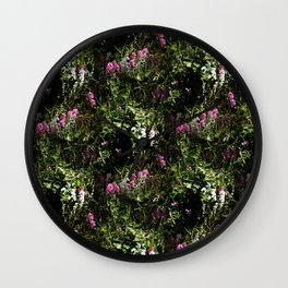 In the mountains where the Sweet Peas grow... Wall Clock