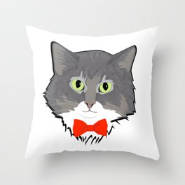 Our Little Gentleman Throw Pillow