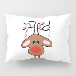 Christmas Reindeer Pillow Sham
