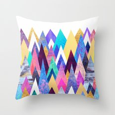 Enchanted Mountains Throw Pillow