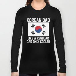 Korean Dad Long Sleeve T-shirt