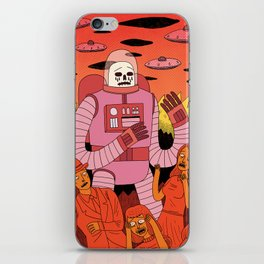 Alien Invader iPhone Skin