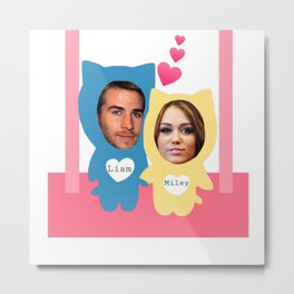 Miley and Liam 507 Metal Print