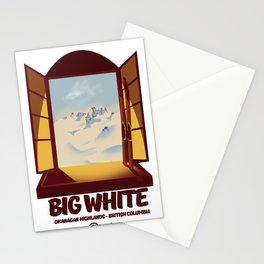 Big White Ski Canada Stationery Cards