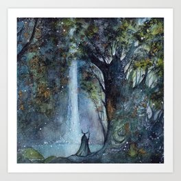 The Forest King Art Print
