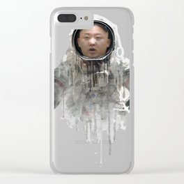 astronaut kim Clear iPhone Case