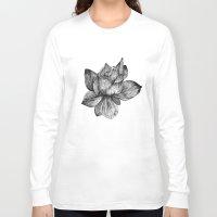 lotus flower Long Sleeve T-shirts featuring Lotus by Sunali Narshai