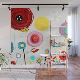 Invent new feelings everyday Wall Mural