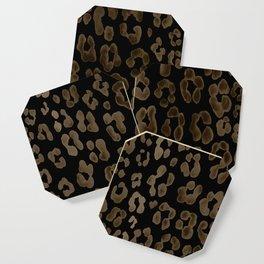 Dark Leopard Coaster