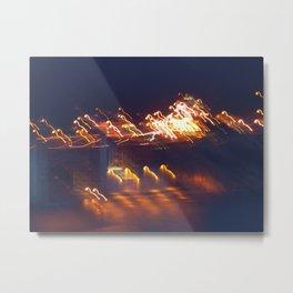 Electrified Golden Gate Bridge Metal Print
