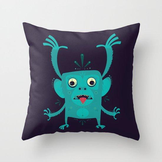 CREATURE N0#4IVI Throw Pillow