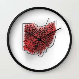 OH-PD-3D Wall Clock