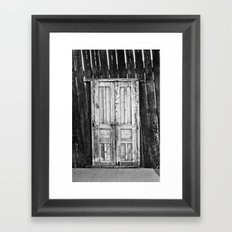 To the Unknown Framed Art Print