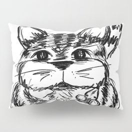 Unlikely Friends :: Cat & Mouse Pillow Sham