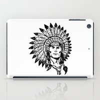 headdress iPad Cases featuring Headdress by Gregg Deal