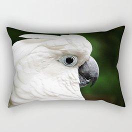 Umbrella Cockatoo Rectangular Pillow