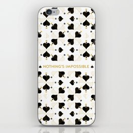 Nothing's Impossible iPhone Skin