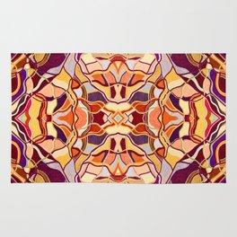 Abstract #8 - II - Melon Rug