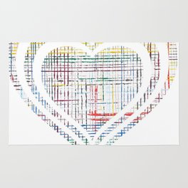 The System - heart Rug