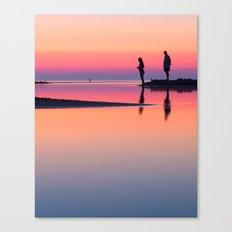 Pastels at Sunset Canvas Print