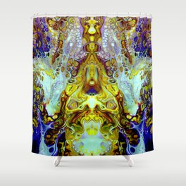 mirror 11 Shower Curtain