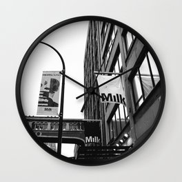 Milk Studios Wall Clock