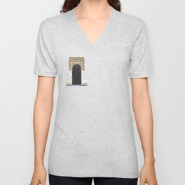 Alhambra Door Unisex V-Neck