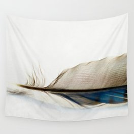 Blue Jay Feather Wall Tapestry