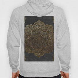 Wood Mandala - Gold Hoody