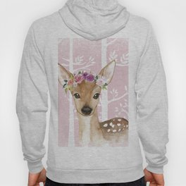 Animals in Forest - The Little Deer Hoody