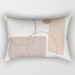 Abstract Shapes No.21 Rectangular Pillow