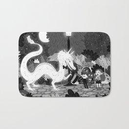 Meeting The Dragon Bath Mat