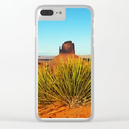 Monument Valley Clear iPhone Case