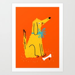 Good doggo Art Print