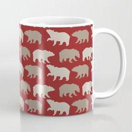 Beautiful Bear Pattern Coffee Mug