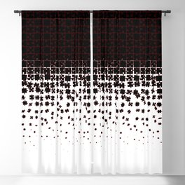 Be at Peace Not in Pieces Blackout Curtain