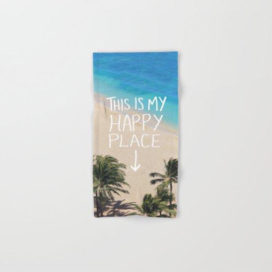 Happy Place Hand & Bath Towel