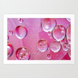 Pink Bubs Art Print