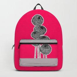 Rounded Flower Backpack