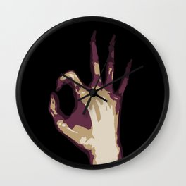 All Righty Then Wall Clock