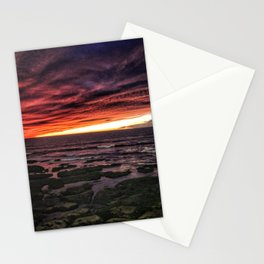 OB Sunset, San Diego Stationery Cards