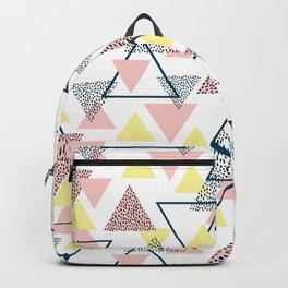 Modern Triangle Backpack