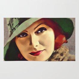 Greta Garbo, Hollywood Legend Rug