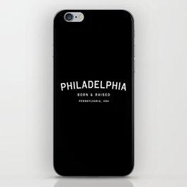 Philadephia - PA, USA (Arc) iPhone Skin