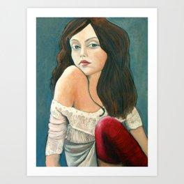 Laila Art Print