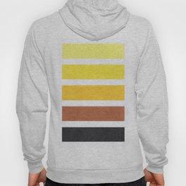 Colorful Yellow Geometric Pattern Hoody