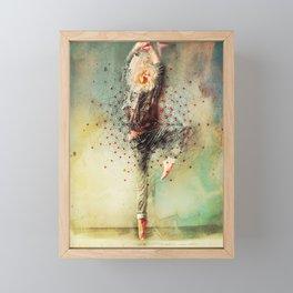 The Dancer Framed Mini Art Print