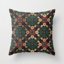 Decorative Indian Mandala Pattern Throw Pillow