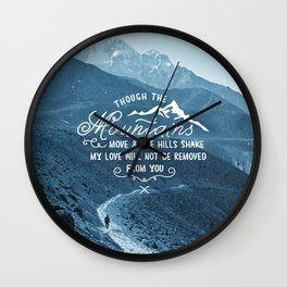 NOT SHAKEN Wall Clock