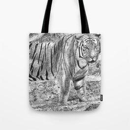 Malayan Tiger (Harimau) Tote Bag